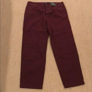 J Crew Broken In Boyfriend Chino Pant